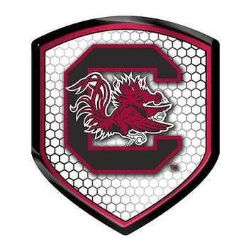 South Carolina Gamecocks SHIELD Reflector USC Emblem Auto Home University of