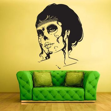 Wall Vinyl Decal Sticker Bedroom Decal Zomby Girl  z456