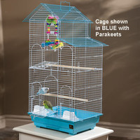 Prevue Tall House Roof Cage | Cages for Small Birds from DrsFosterSmith.com