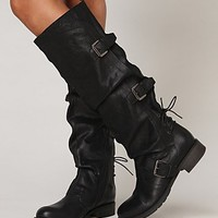 Free People Marl Buckle Tall Boot