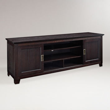 Espresso Warren TV Stand - World Market