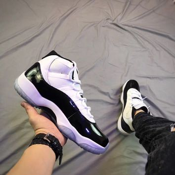 "Air Jordan 11 Retro ""Concord"" 45 Basketball Shoe"