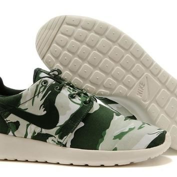 Nike Roshe Run Sport Casual Shoes Sneakers Green Size 36-44