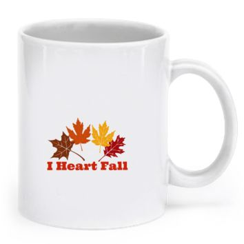 I Heart Fall Coffee Mug iheartfall