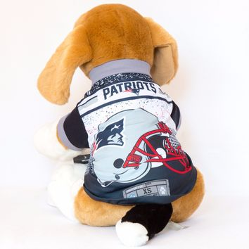 New England Patriots Helmet Dog Shirt NFL Football Officially Licensed Product