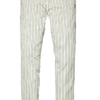 Maison Scotch Striped Relaxed Fit Pants