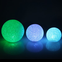 LED Crystal Snow Ball Centerpiece