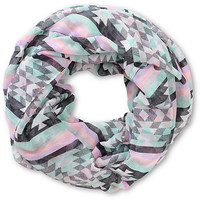 Empyre Winter Festival Tribal Stripe Infinity Scarf