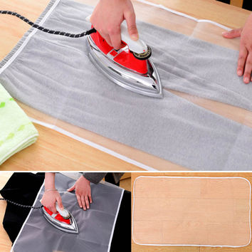 Washable Ironing Board Heat Resistant Mesh Protective Guard Cloth Cover Pad Garment Protector