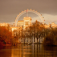 St James's Park & London Eye Art Print by Dawn OConnor | Society6