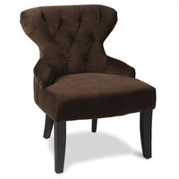 Office Star Avenue Six Curves Hour Glass Accent Chair