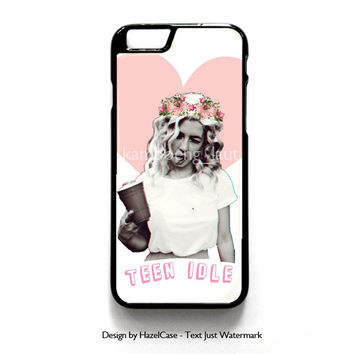 Marina And The Diamonds Collage for iPhone 4 4S 5 5S 5C 6 6 Plus , iPod Touch 4 5  , Samsung Galaxy S3 S4 S5 Note 3 Note 4 , and HTC One X M7 M8 Case Cover