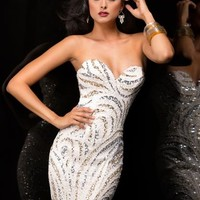2014 Scala Sexy Short Homecoming Dress 48357