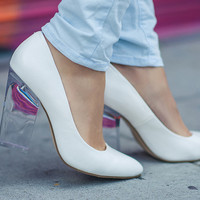 Nasty Gals Do It Better: In The Nude Minx Pump