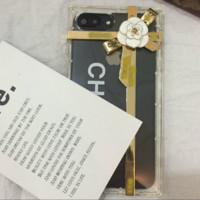 CHANEL print phone shell phone case for Iphone 6/6s/6p/7p/7/8/8p/x
