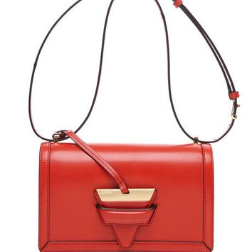 Loewe Barcelona Shoulder Bag In Red Box Calf Primaryred7932