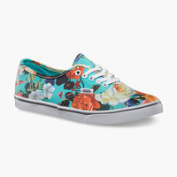 VANS Floral Authentic Lo Pro Womens Shoes | Sneakers