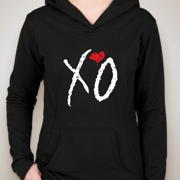 "The Weeknd ""XO"" Logo Unisex Adult Hoodie Sweatshirt"