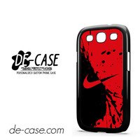 Nike Blood Red For Samsung Galaxy S3 Case Phone Case Gift Gift Present