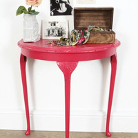 RESERVED for Amelia Heggie Upcycled hot pink by rubyrhino1