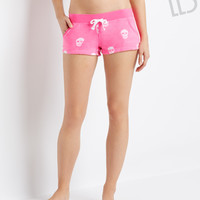 Aeropostale  LLD Skull Fleece Shorts