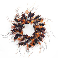 Dia de Los Muertos Collection Spider Wreath