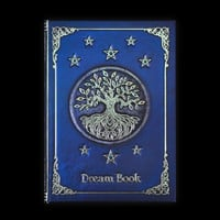 Beautiful Blank Journal Blue Dream Book Tree Stars Hardbound Notebook 5 x 7