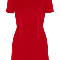 Carven - Wool-twill mini dress
