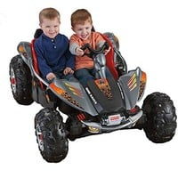 Fisher-Price Power Wheels Lava Red and Black Dune Racer