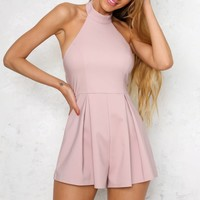 Gifted Playsuit Blush