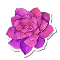Kimposed - Pink Succulent Sticker