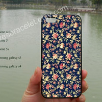 Flower iPhone case,Vintage Backgrounds,iPhone 5s case,iPhone 5c case,Samsung Galaxy S3 S4,iPhone 4 Case,iPhone 5 Case,iPhone 4S case-253
