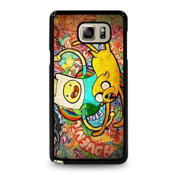 ADVENTURE TIME Samsung Galaxy Note 5 Case Cover