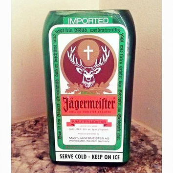 Jagermeister Bottle 100% Natural Soy Candle