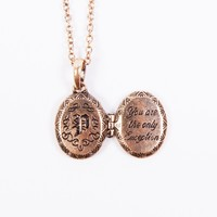 The Only Exception Locket