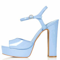 LUTHER Skinny Sandals - Blue