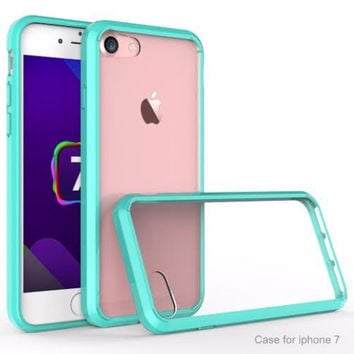 Apple iPhone 7 Case, Easy Grip Slim Armor Bumper Case for Iphone 7 - Teal