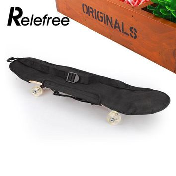 Relefree Sports Skateboard Carrying Bag Skate Board Peny Board Longboard Scooter Handbag Bag Backpack 81*21cm