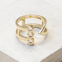 Triad Wrap Ring - Gold