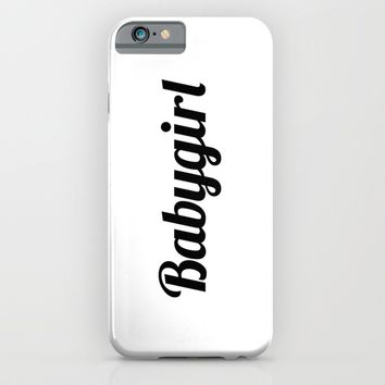 BABYGIRL iPhone & iPod Case by CreativeAngel