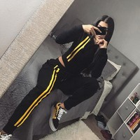 Casual Winter Women's Fashion Irregular High Waist Pants [129076068377]
