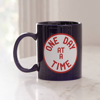 One Day At A Time Mug | Urban Outfitters