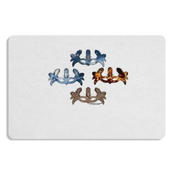 Four Elemental Masquerade Masks Placemat by TooLoud