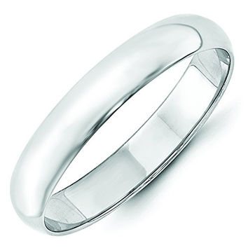 4mm .925 Sterling Silver Wedding Band Ring Men's Women's Also Thumb Ring (6)