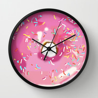 The Mystery of The Disappearing Donut Wall Clock by Halfmoon Industries