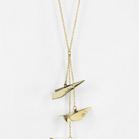 Urban Outfitters - Monserat De Lucca Paper Plane Necklace