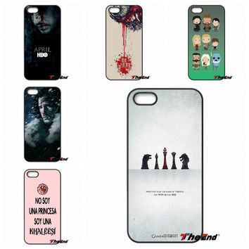 Amazing Game Of Throne Art Protective Phone Case For Samsung Galaxy Note 2 3 4 5 S2 S3 S4 S5 MINI S6 Active S7 edge
