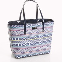 St. Barth's Stripe Large Tote