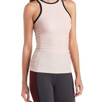 Side-Ruched Strappy Active Tank Top by Charlotte Russe