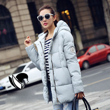 Cotton Wadded Parkas Fashion Women Coat Windproof outwear Winter Jacket And Coat Women 2017 Warm Womens Down Jacket Ladies Coats